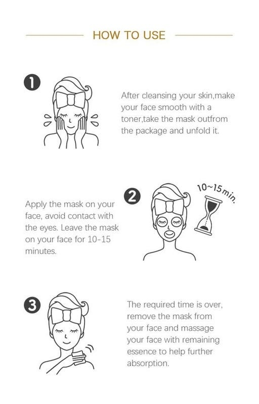 Argan Oil Pure Skin Care Essence Mask-4
