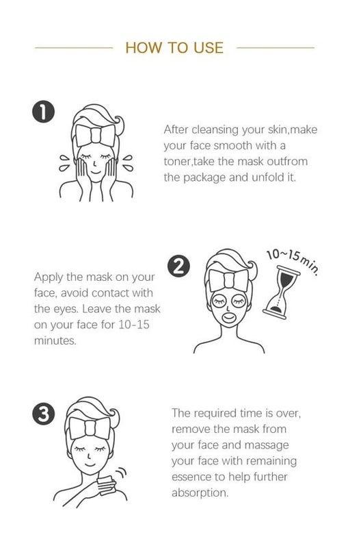 Placenta Snowing Care Essence Mask-4