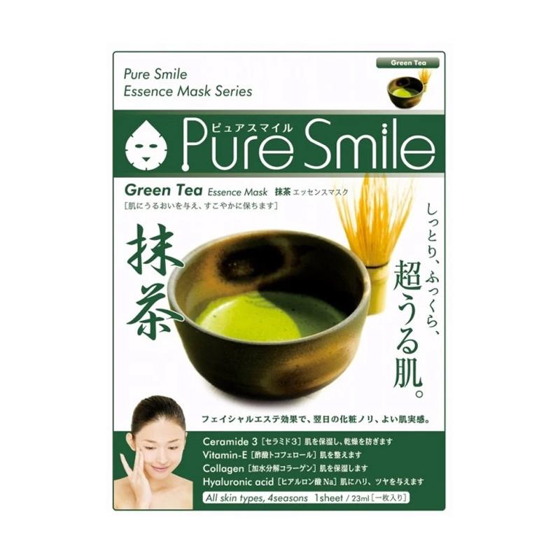 Pure Smile Essence Mask (Green Tea)-1