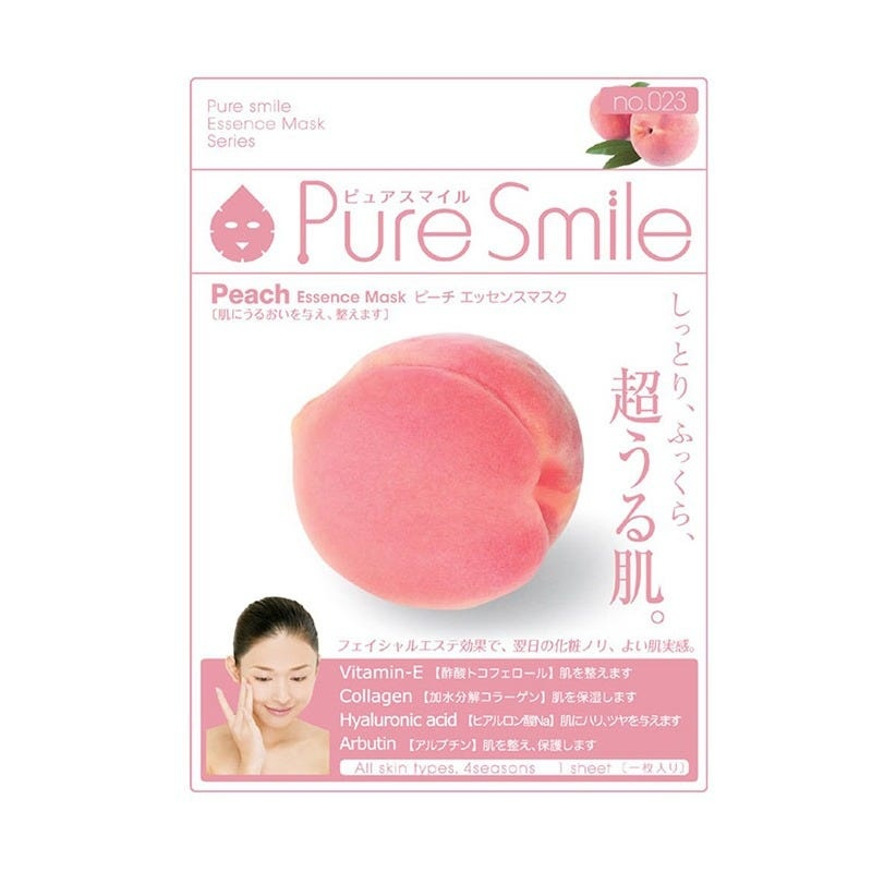 Pure Smile Essence Mask (Peach)-1