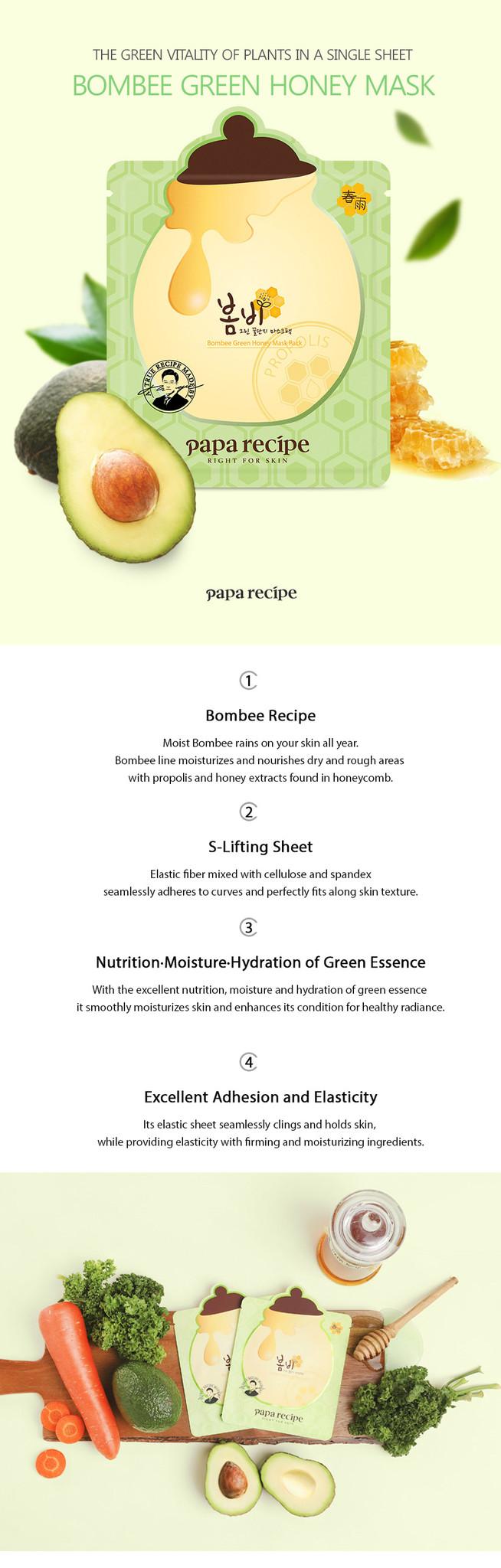 Bombee Green Honey Mask-2