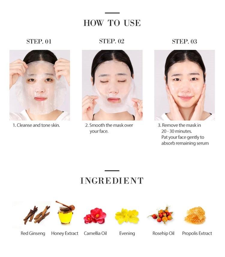 Bombee Ginseng Red Honey Oil Mask-4
