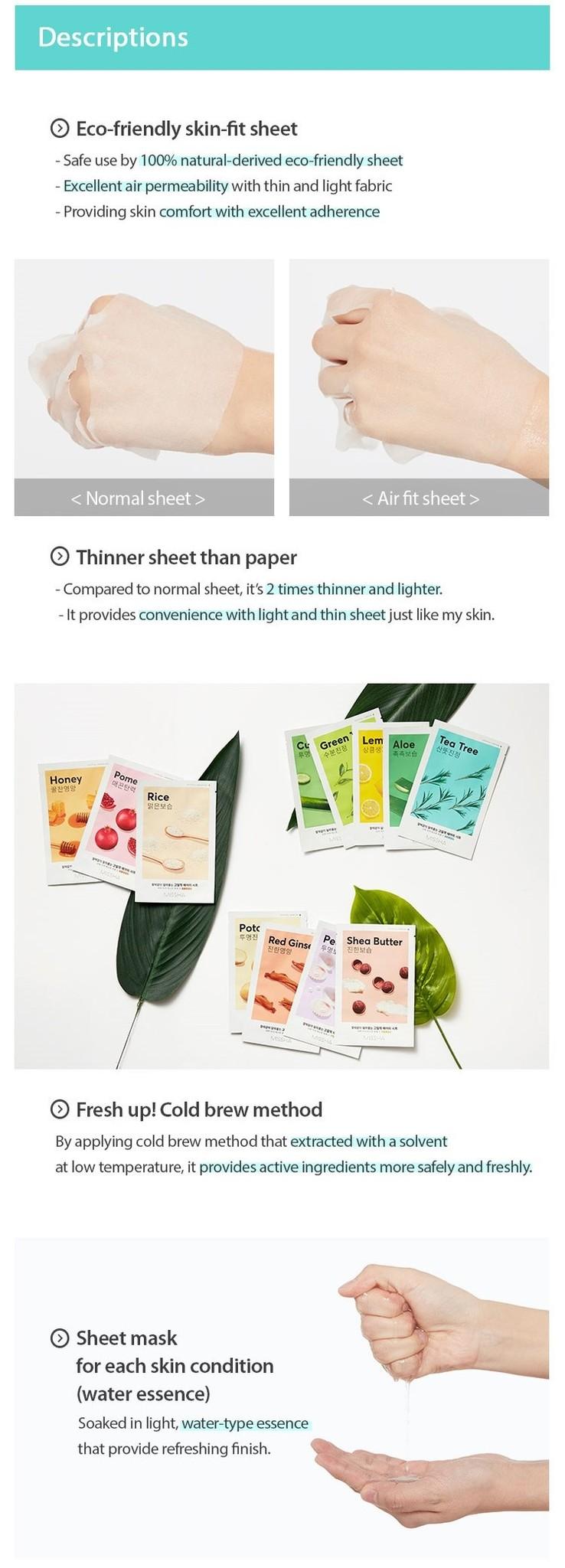 Airy Fit Sheet Mask Tea Tree-3