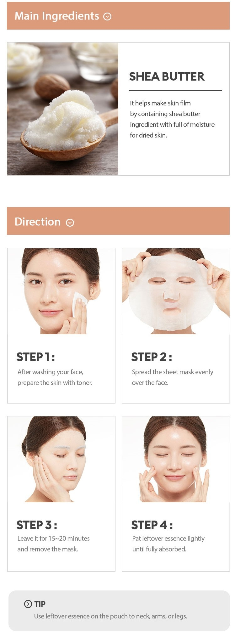 Airy Fit Sheet Mask Shea Butter-4