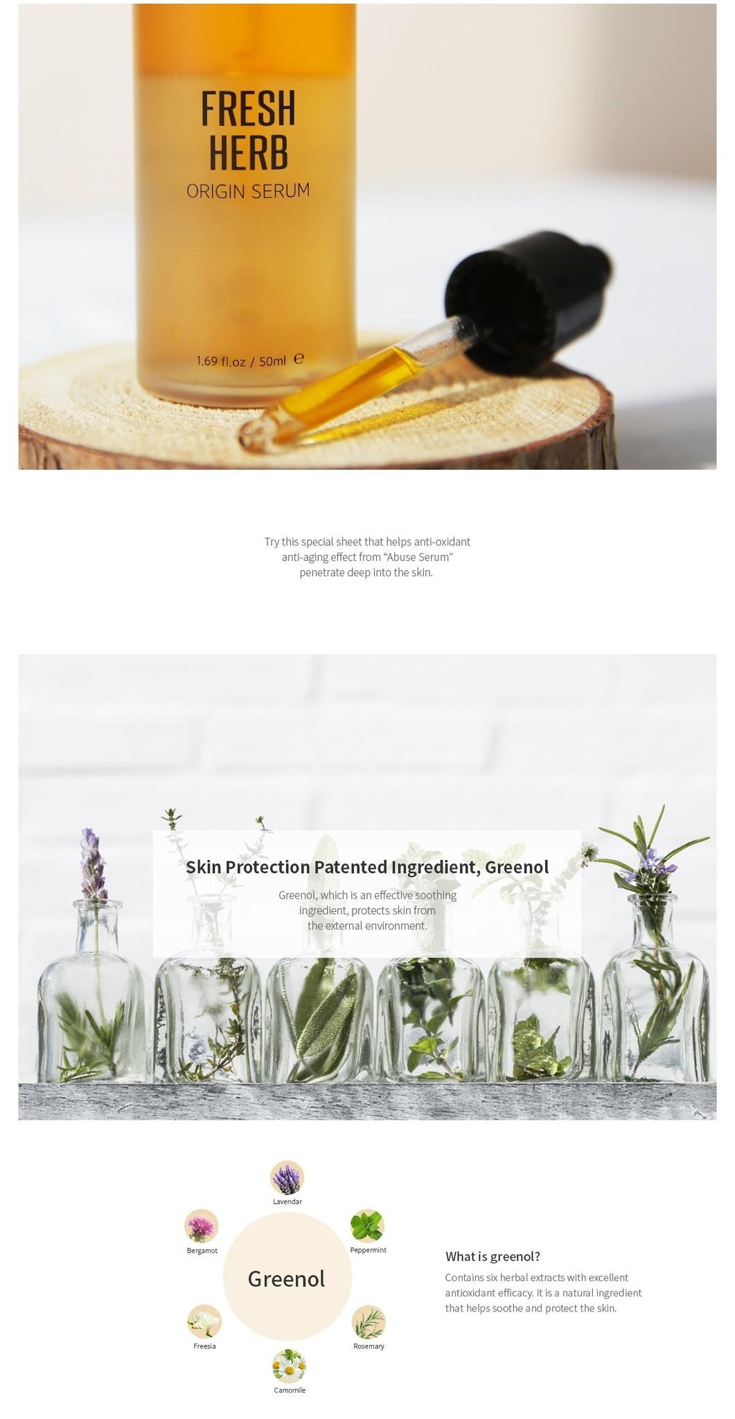 Fresh Herb Origin Mask Pack-3