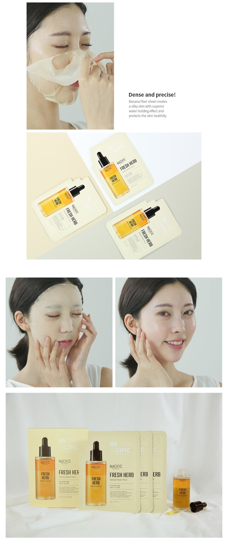Fresh Herb Origin Mask Pack-5