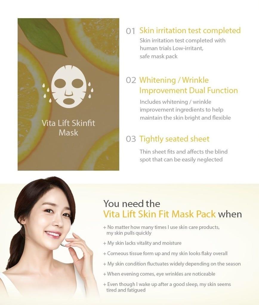 Vita Lift Skin Fit Mask-3