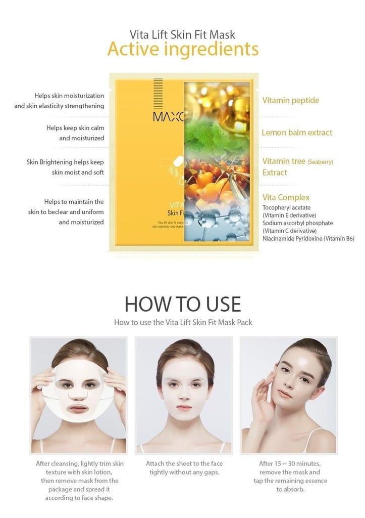 Vita Lift Skin Fit Mask-5