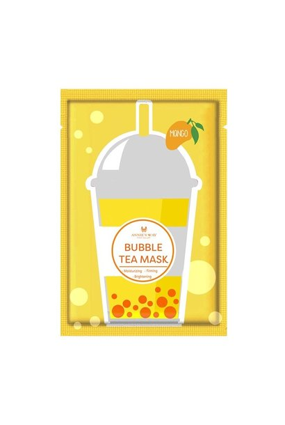 Mango Bubble Tea Invisible Silk Mask