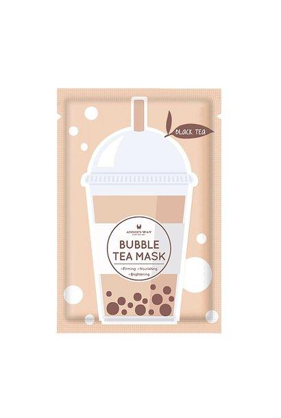Black Tea Bubble Tea Invisible Silk Mask