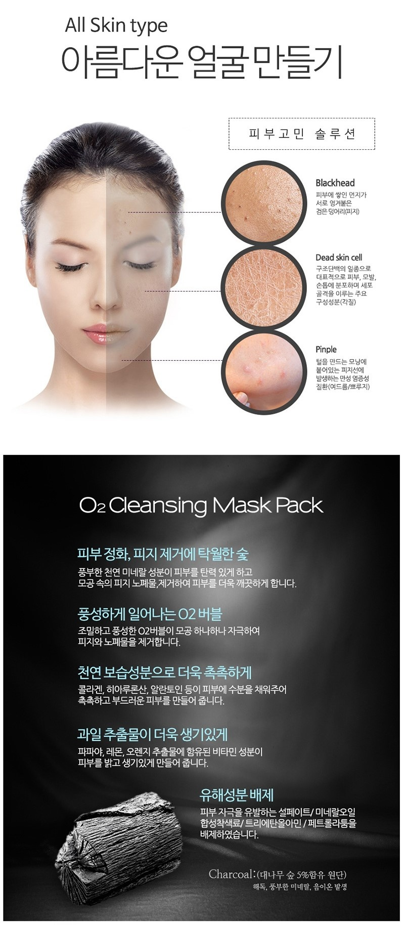 Deep Purifying Black O2 Bubble Mask (Charcoal)-4