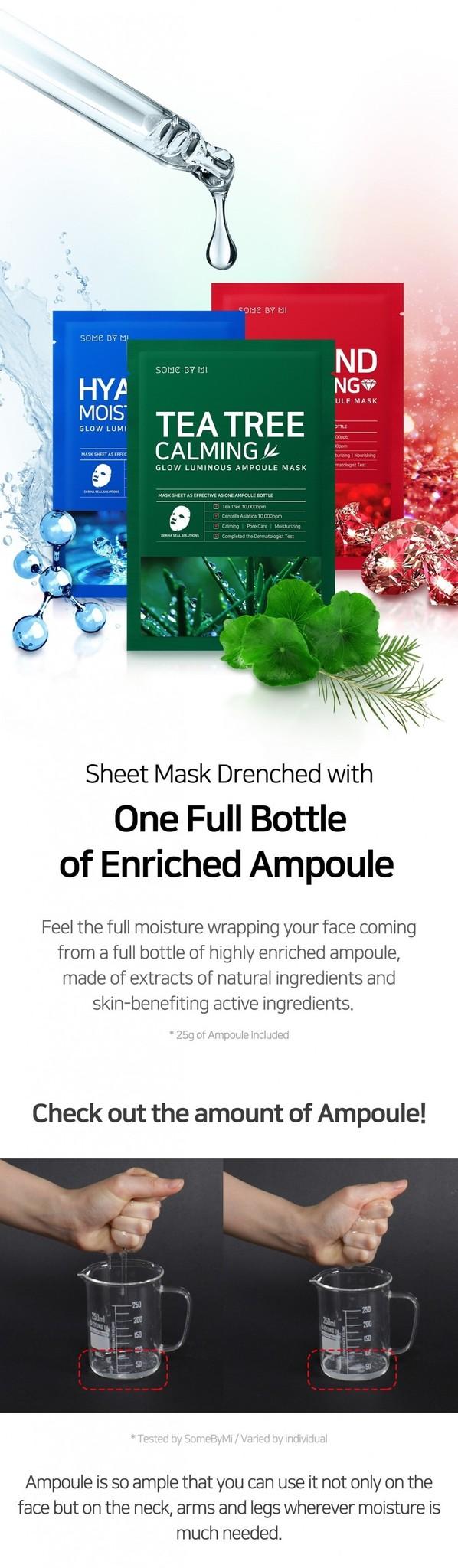 Diamond Brightening Glow Luminous Ampoule Mask-3
