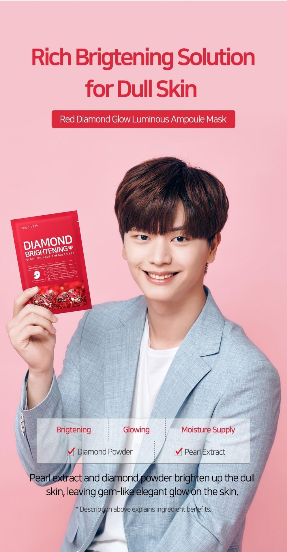 Diamond Brightening Glow Luminous Ampoule Mask-7