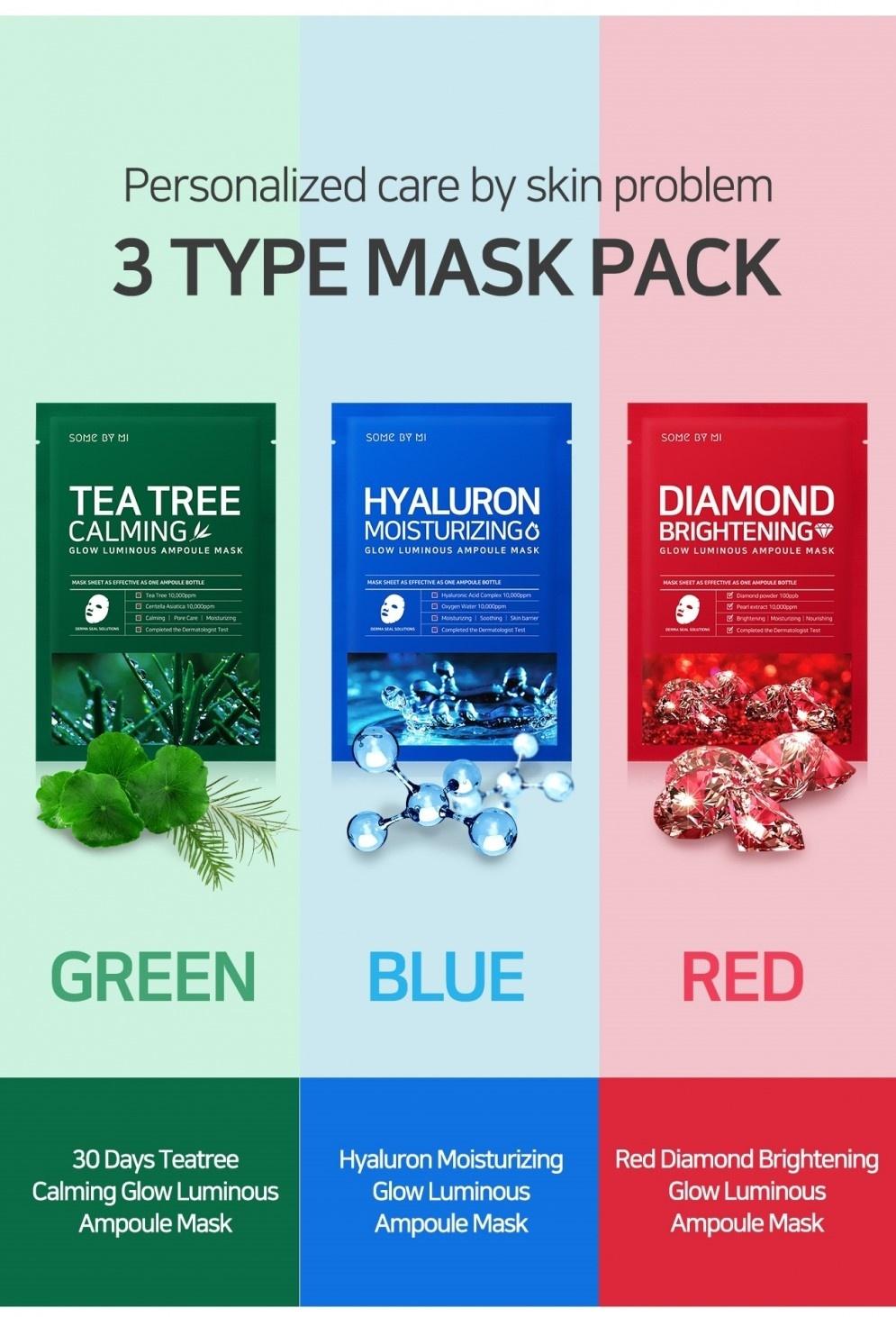 Tea Tree Calming Glow Luminous Ampoule Mask-7