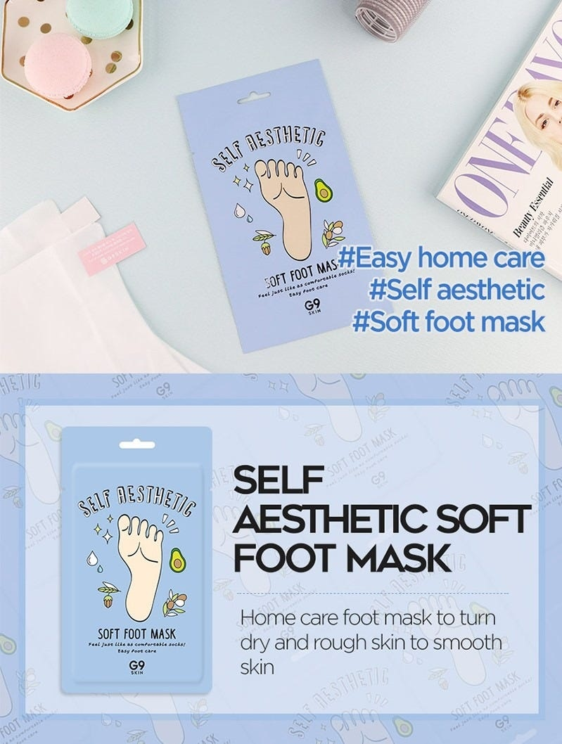 Self Aesthetic Soft Foot Mask-3