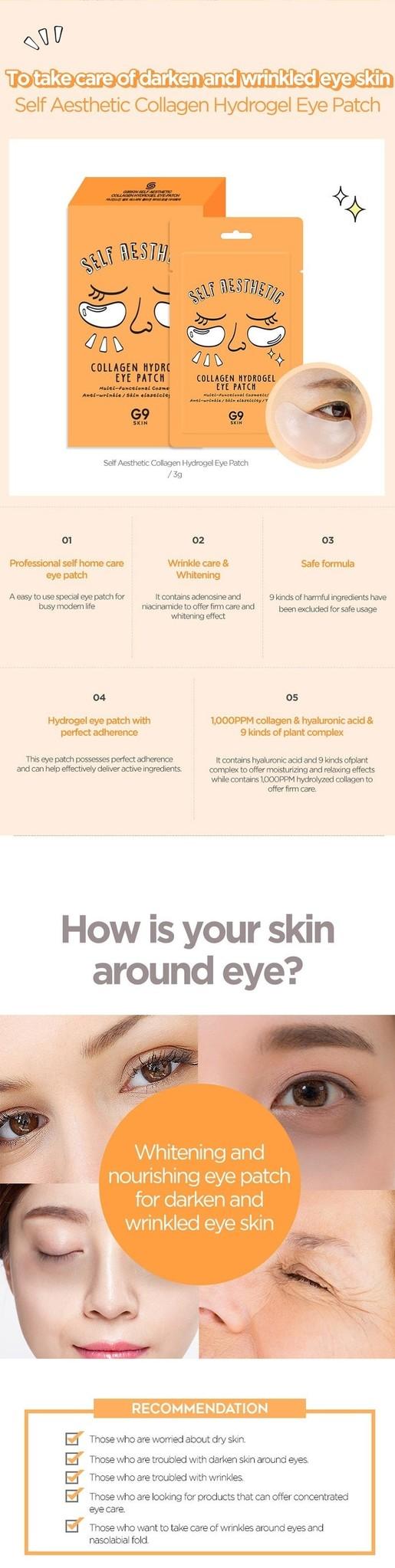 Self Aesthetic Collagen Hydrogel Eye Patch-4