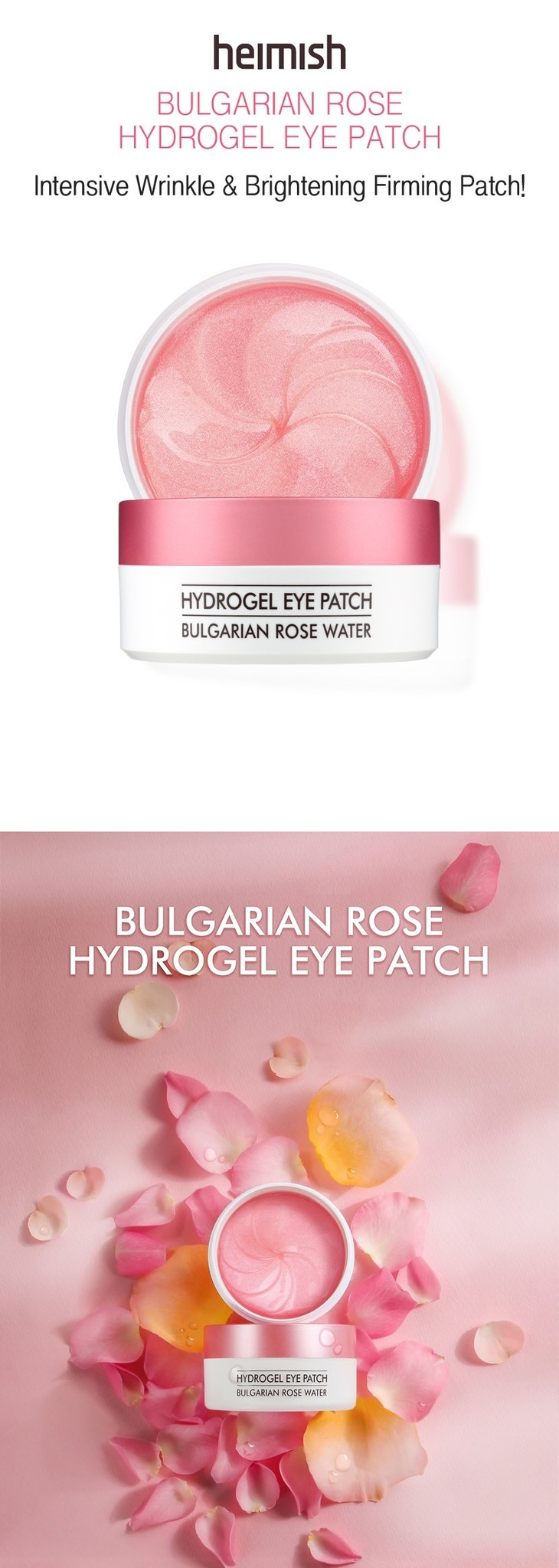 Bulgarian Rose Water Hydrogel Eye Patch-2