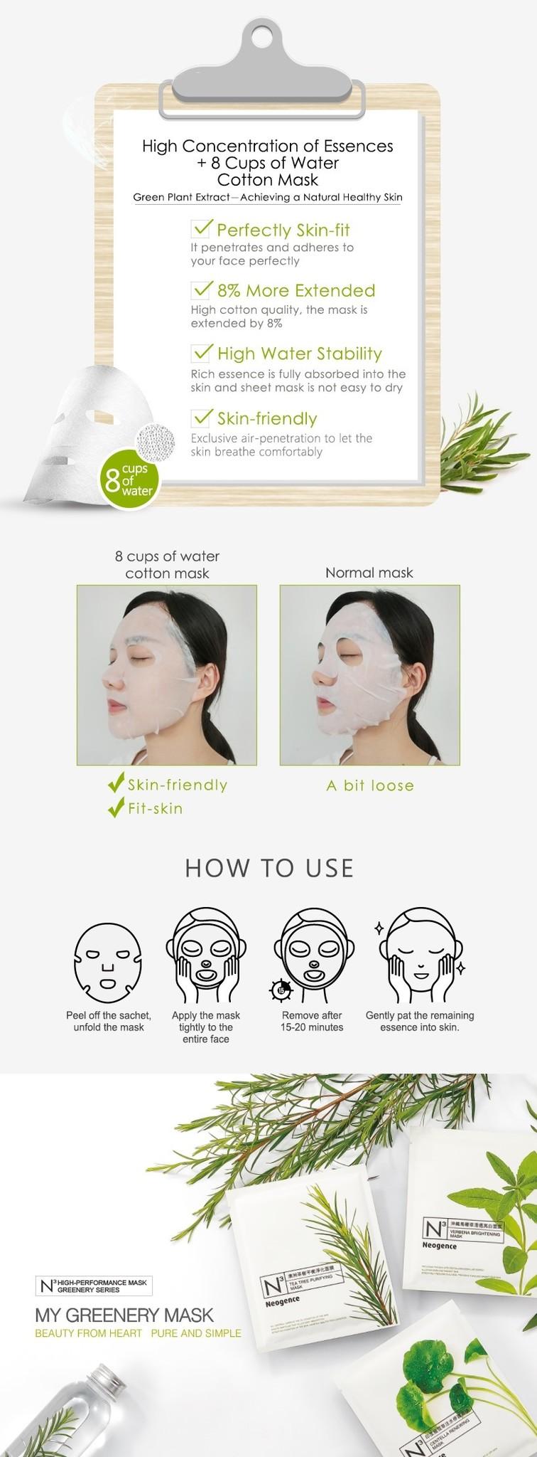 N3 Tea Tree Purifying Mask-4