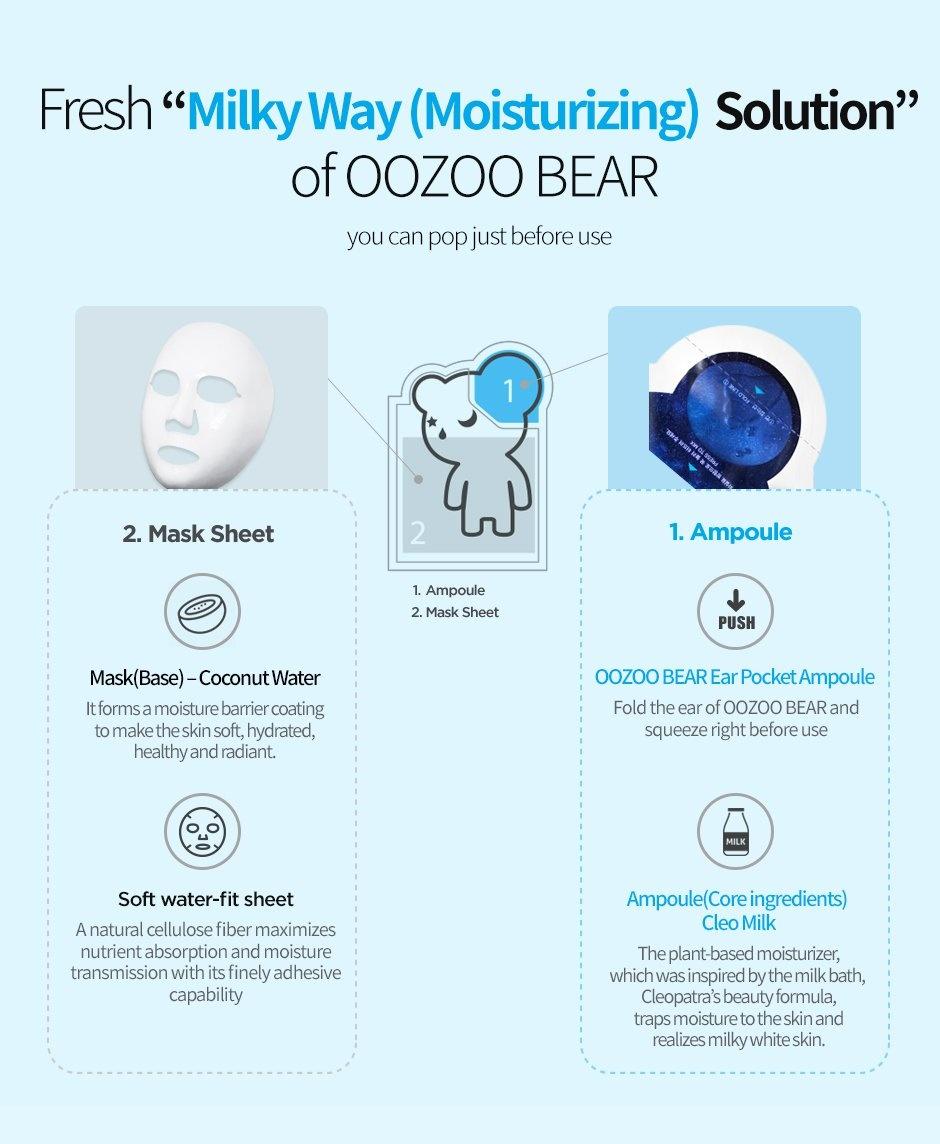 Oozoo Bear Mask (Hydrating)-3
