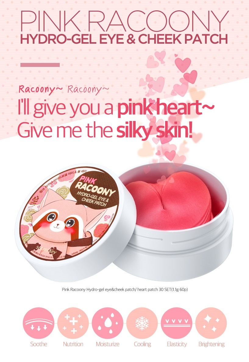 Pink Racoony Hydro-gel Eye & Cheek Patch-2