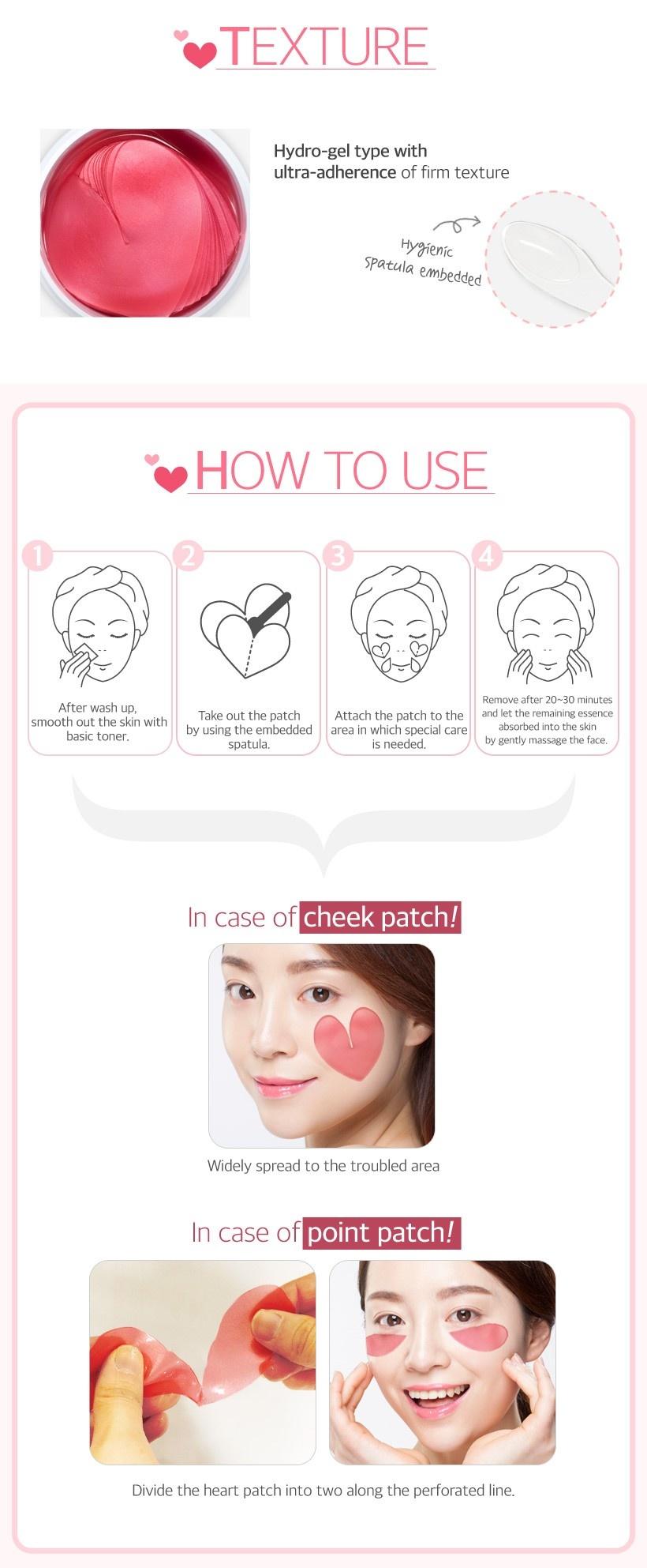 Pink Racoony Hydro-gel Eye & Cheek Patch-5