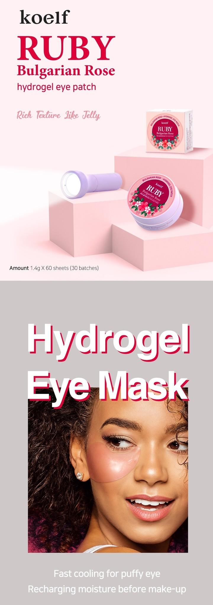 Bulgarian Rose Eye Patch-2
