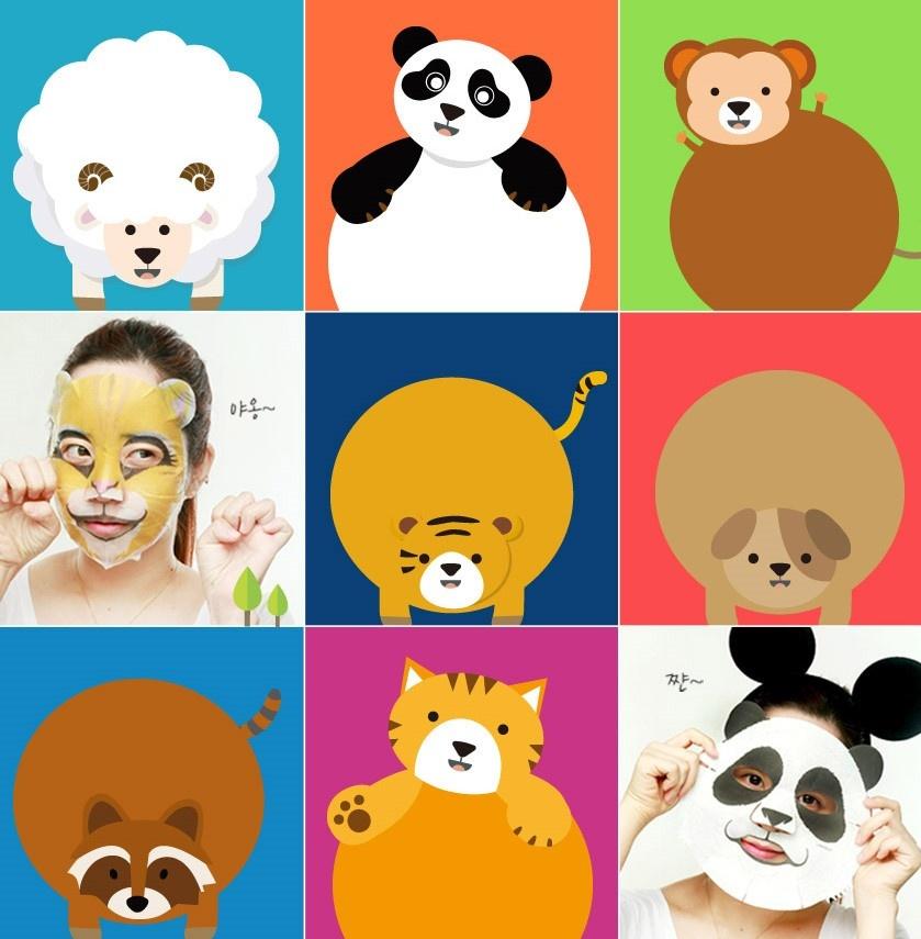 Animal Mask Series - Sheep-4