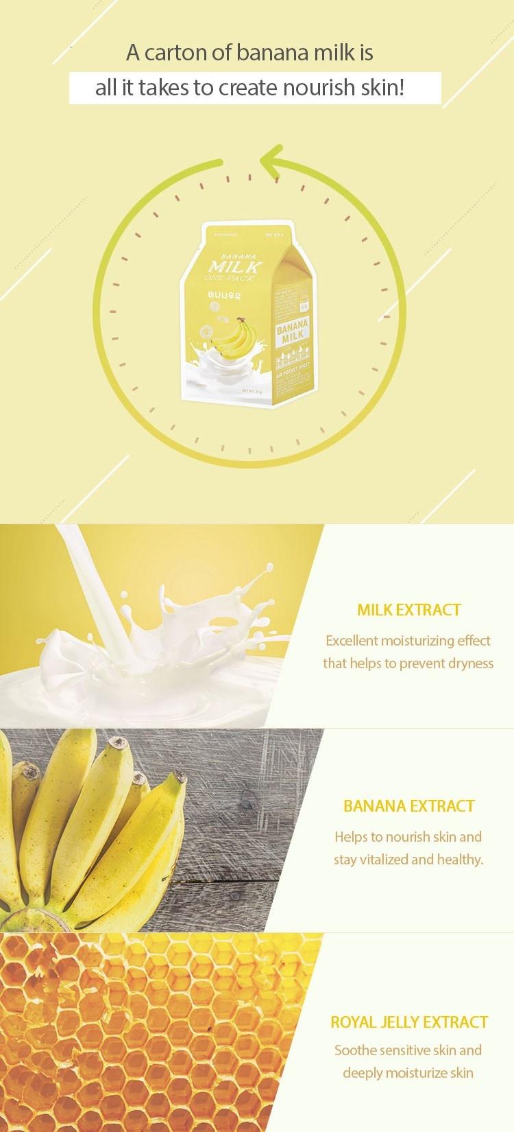 Milk One Pack #Banana Milk-4