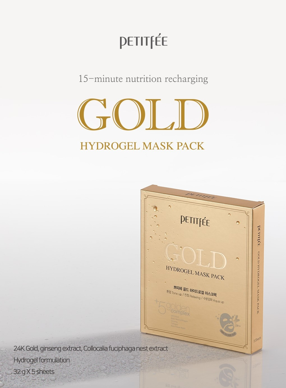 Gold Hydrogel Mask-2