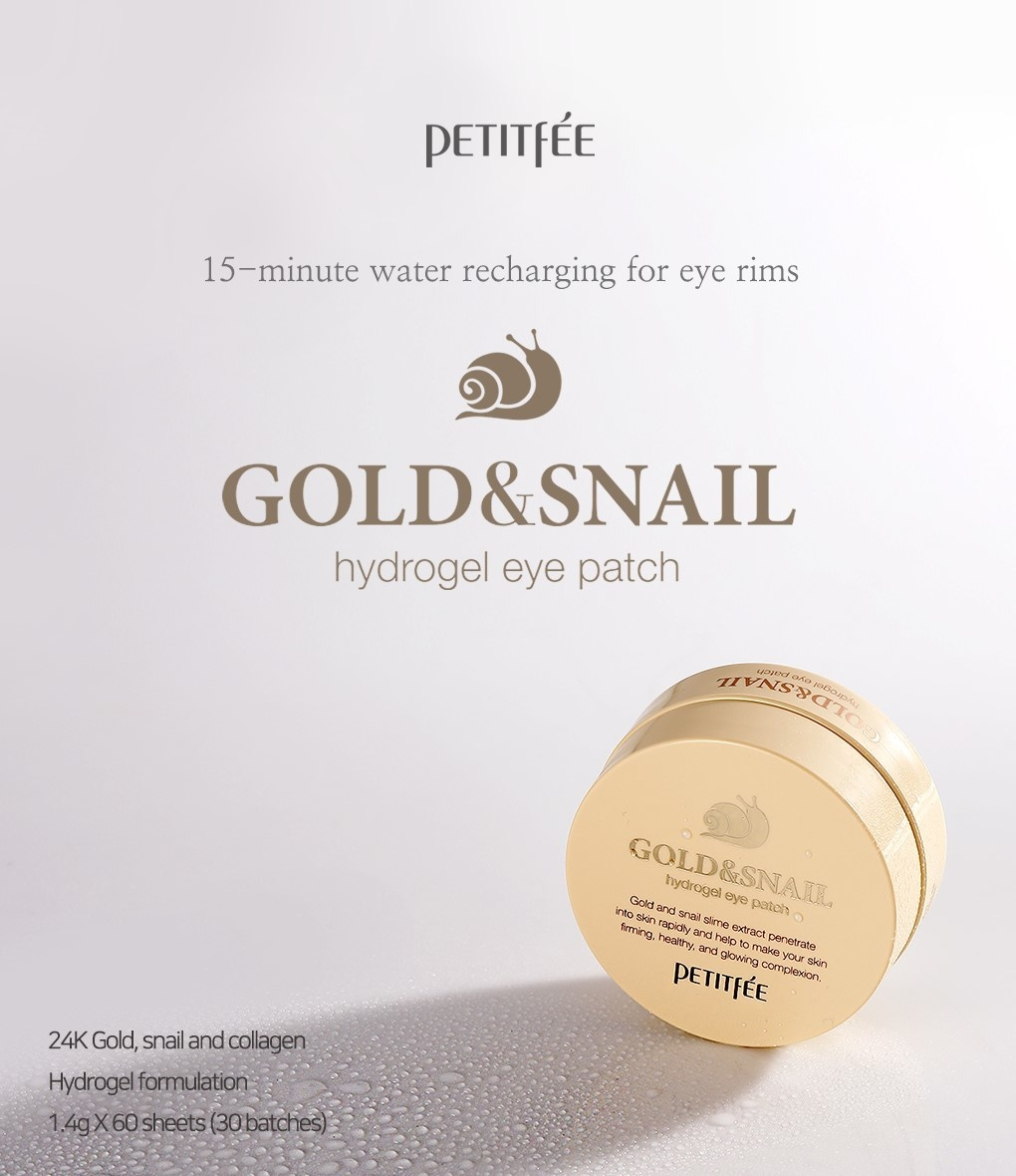Gold & Snail Hydrogel Eye Patch-2
