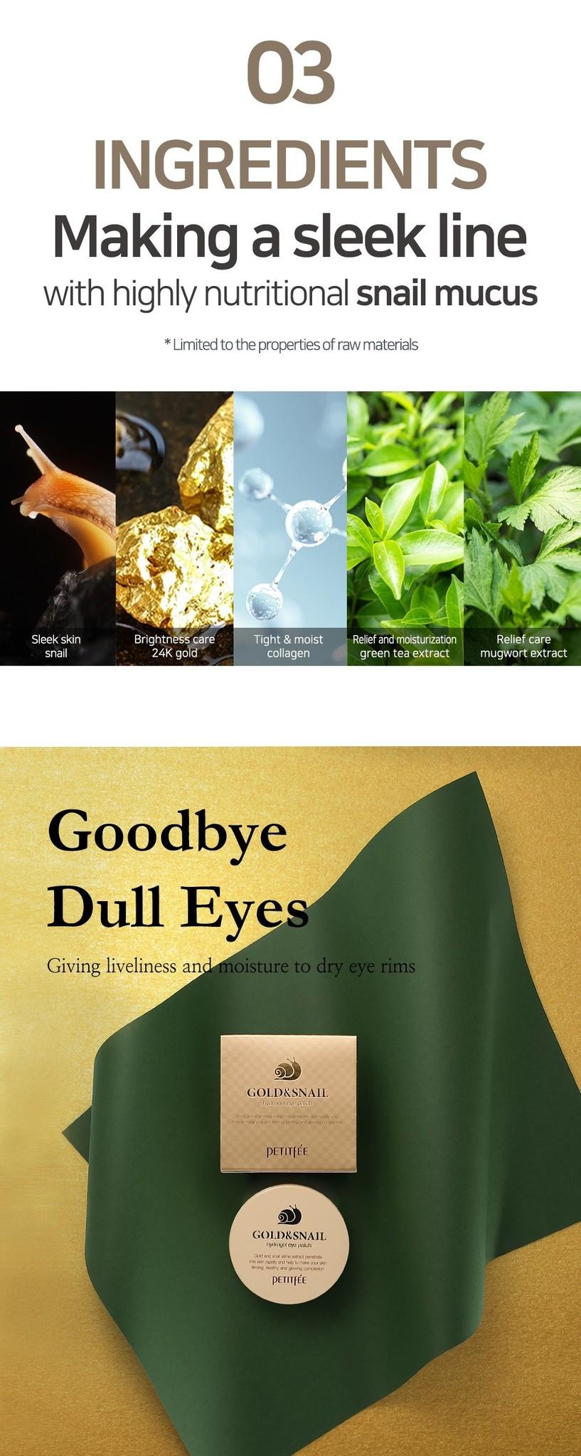 Gold & Snail Hydrogel Eye Patch-6