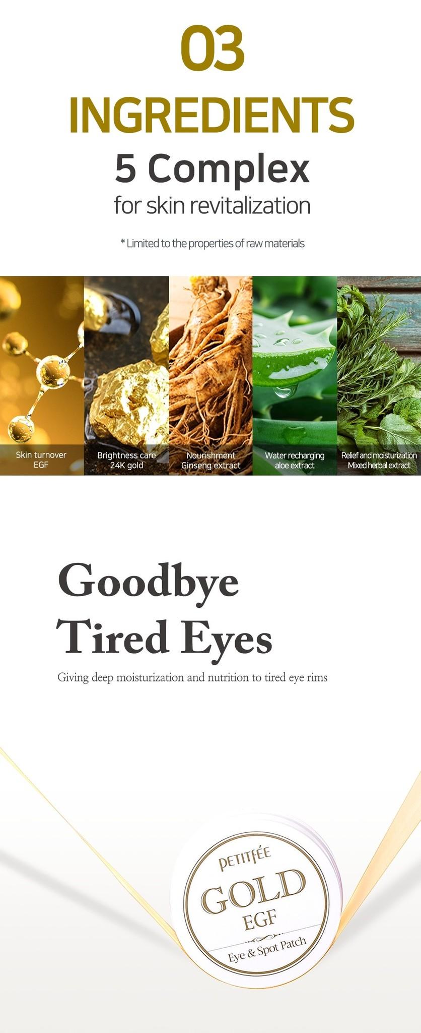 Gold & EGF Eye & Spot Patch-6
