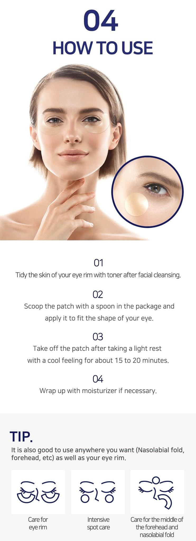 Gold & EGF Eye & Spot Patch-7