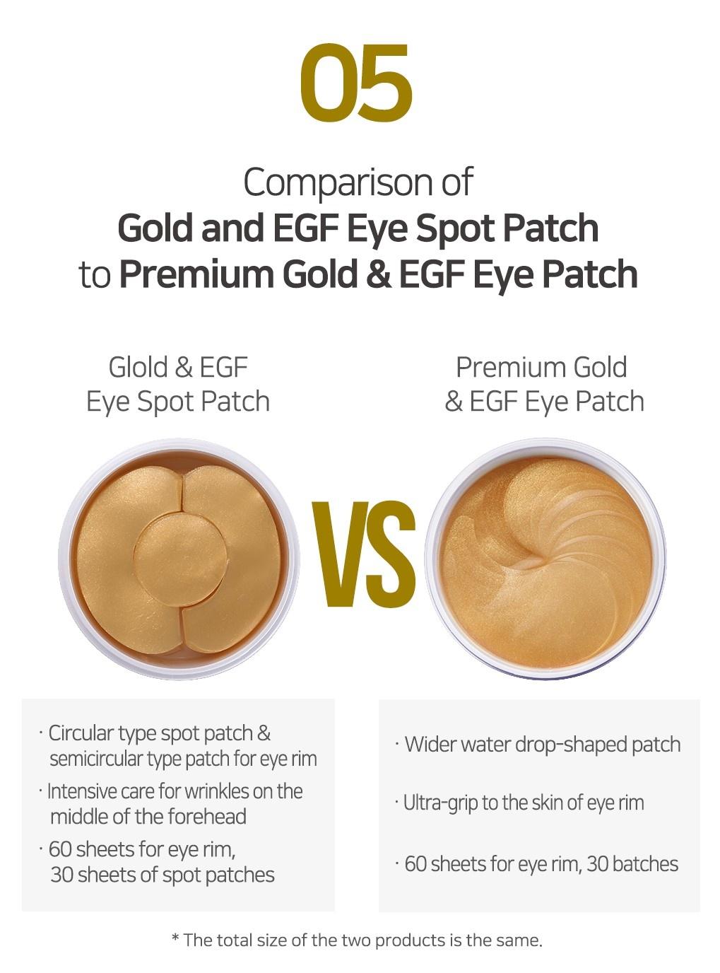 Gold & EGF Eye & Spot Patch-8