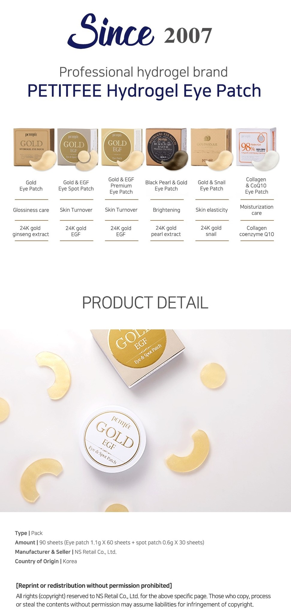 Gold & EGF Eye & Spot Patch-9
