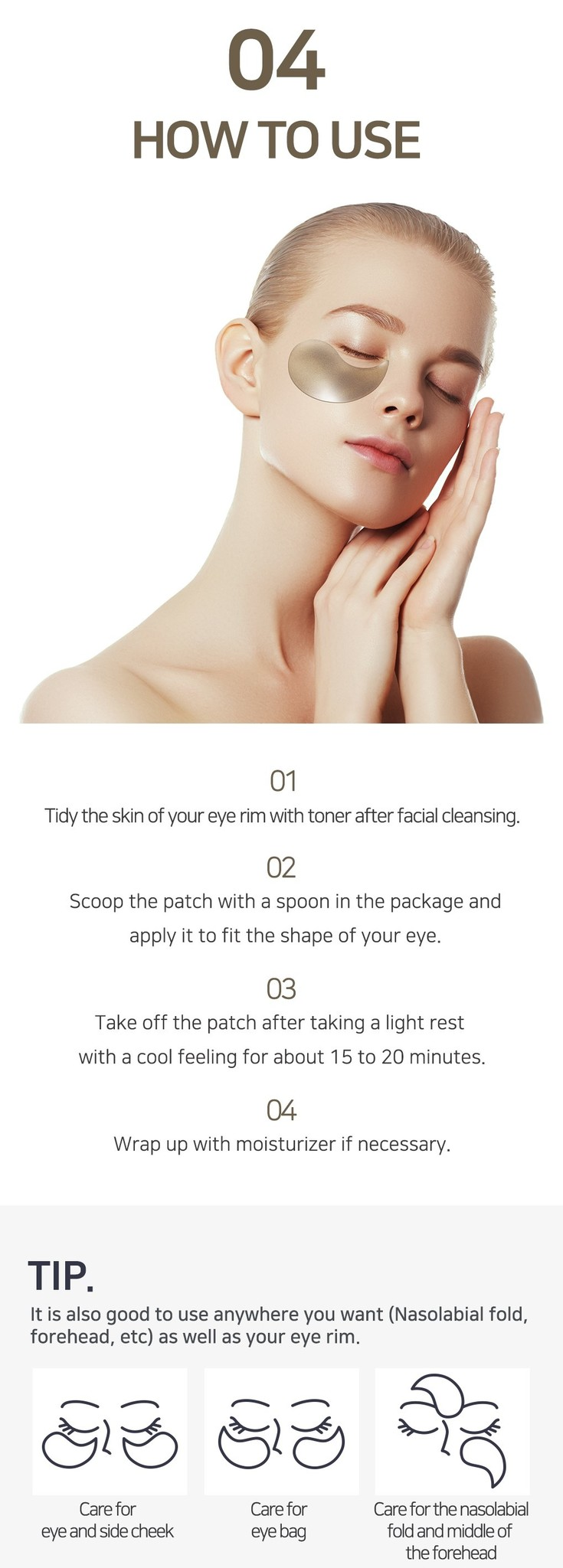 Black Pearl & Gold Eye Patch-7