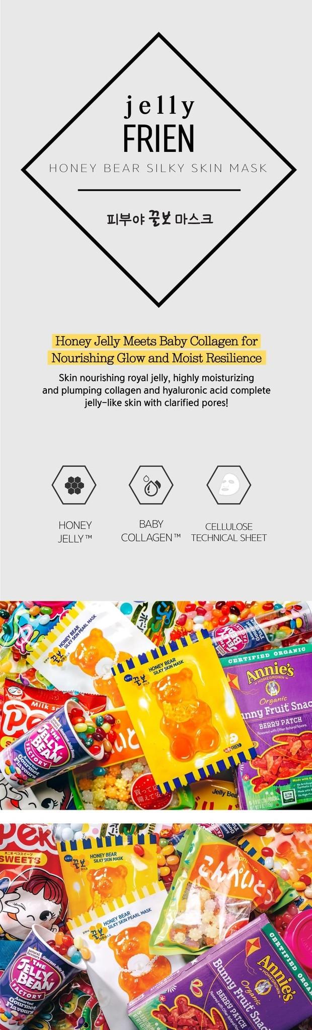 Honey Bear Silky Skin Mask-3