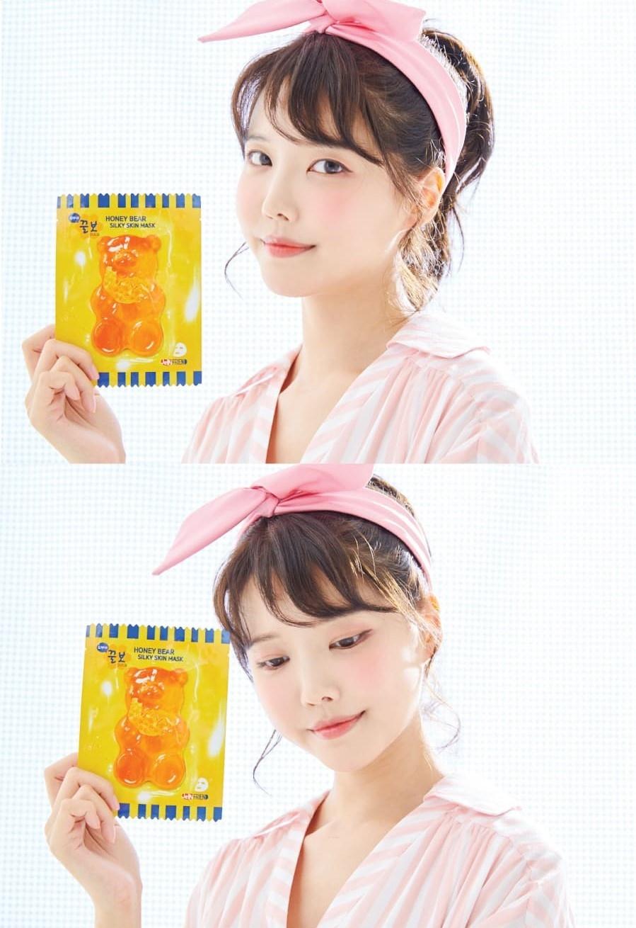 Honey Bear Silky Skin Mask-8