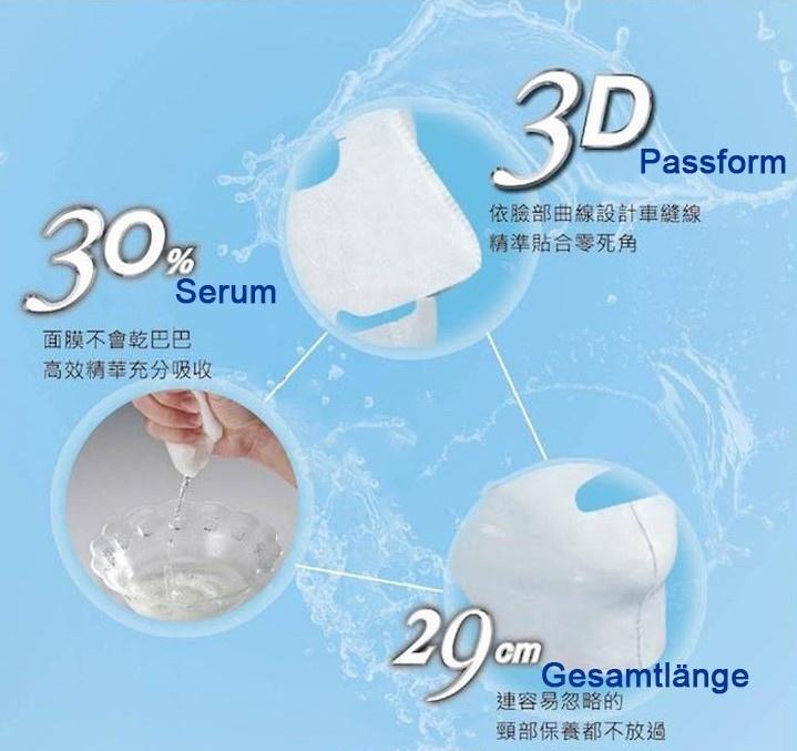 Pomegranate Anti-fatigue Brightening Mask (7pcs)-3