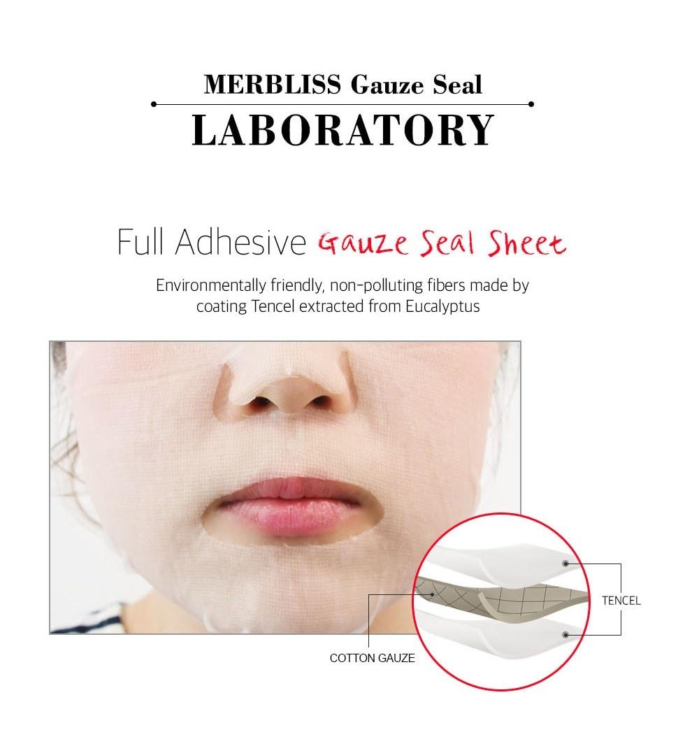Nurse Healing Intense Soothing Gauze Seal Mask-7