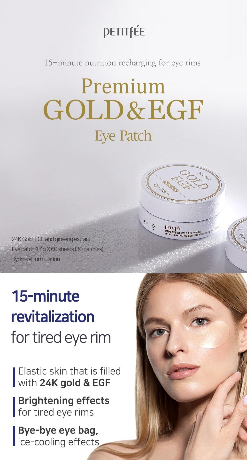 Premium Gold & EGF Eye Patch-2