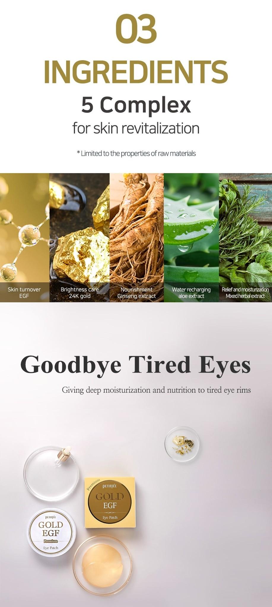 Premium Gold & EGF Eye Patch-5