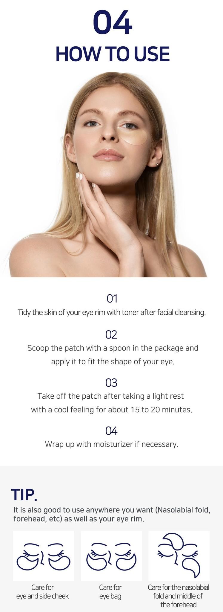 Premium Gold & EGF Eye Patch-6