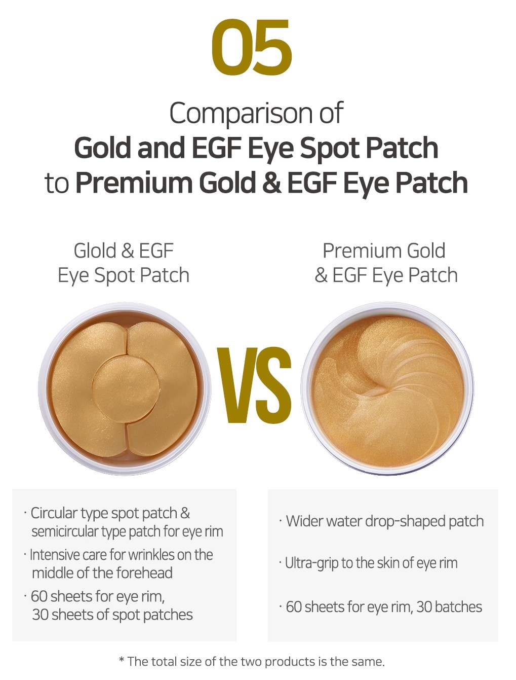 Premium Gold & EGF Eye Patch-7
