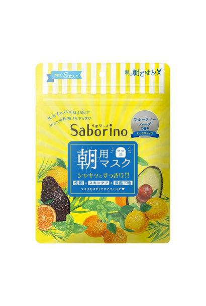 Saborino Morning Mask Fruity Herbal (5 pcs)