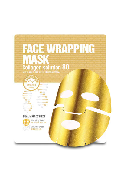Face Wrapping Mask Collagen Solution 80