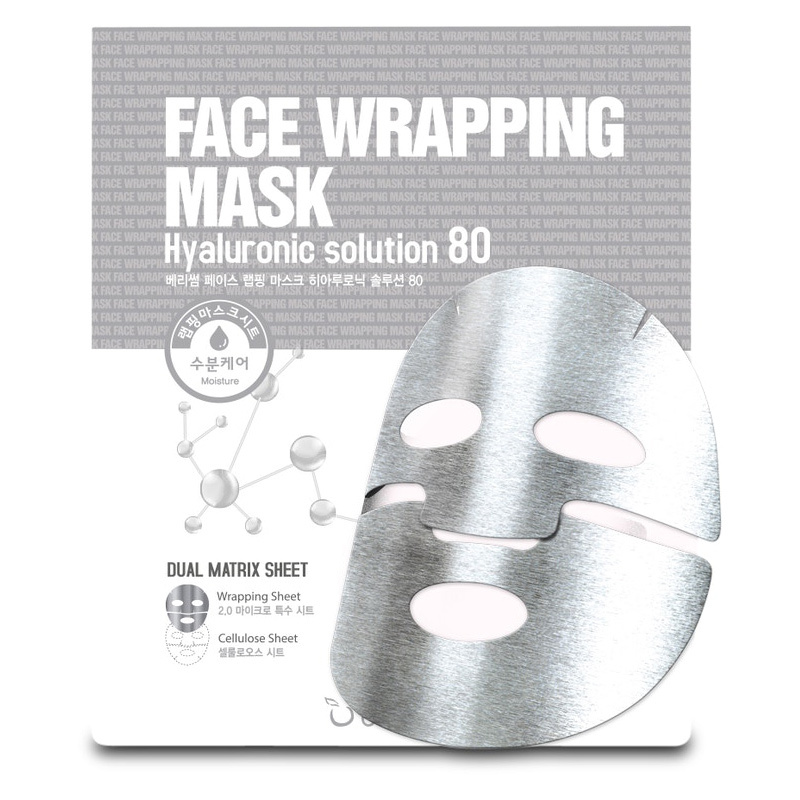 Face Wrapping Mask Hyaluronic Solution 80-1