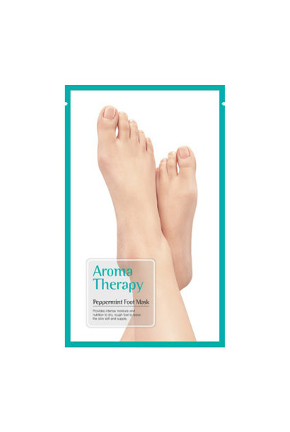 Aromatherapy Peppermint Foot Mask