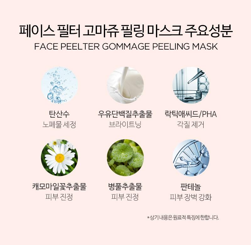 Face Peelter Gommage Peeling Mask-9