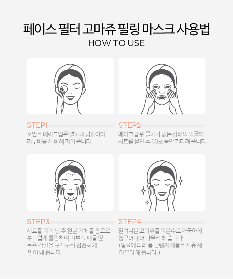 Face Peelter Gommage Peeling Mask-10